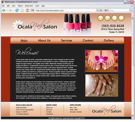 The Nail Salon in Ocala that will be your luxurious escape from everyday life.
